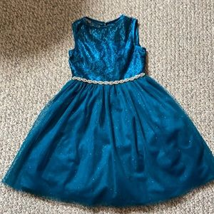 Rare Editions Girls Party Dress